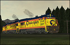 Chessie System (C&O) 2309 GE U23B Locomotive - 2.27 MB KB