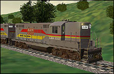 Family Lines System (L&N) GP9 Repaint - 1.59 MB KB