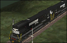 Norfolk Southern 3909 high hood U23B Locomotive - 1.87 MB KB